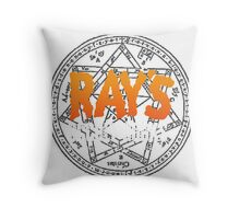 Rays Occult Books Throw Pillow