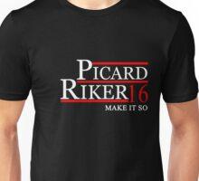 PICARD RIKER 2016 for President T-Shirt Unisex T-Shirt