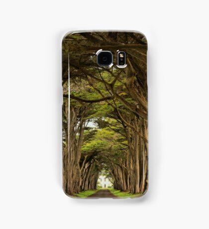 Point Reyes Cypress Tunnel Samsung Galaxy Case/Skin