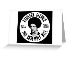 KATHLEEN CLEAVER (18TH ASSEMBLY DIST) Greeting Card