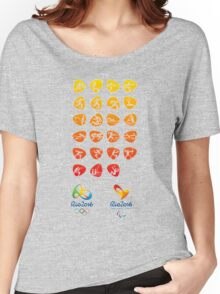 Pictogram rio 2016 Women's Relaxed Fit T-Shirt