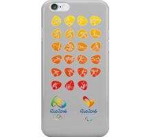 Pictogram rio 2016 iPhone Case/Skin