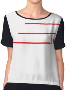 SMAILS SPAULDING 2016 for President T-Shirt Chiffon Top