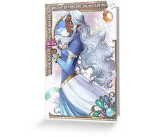 Voltron - Allura Greeting Card