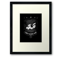 Empty Hearse Club Framed Print