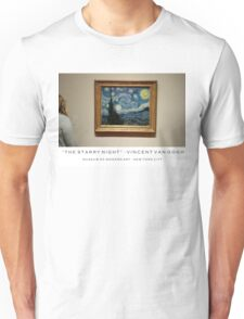 """The Starry Night""- Vincent Van Gogh Unisex T-Shirt"
