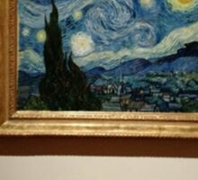 """The Starry Night""- Vincent Van Gogh Sticker"