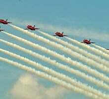 Red arrows 2014 by Stephen Kane