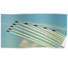Red arrows 2014 Poster