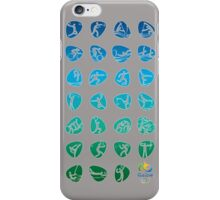 Pictogram rio de janiero 2016  iPhone Case/Skin