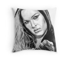 Ronda Rousey Throw Pillow
