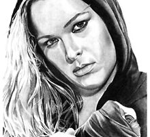 Ronda Rousey by mattessom