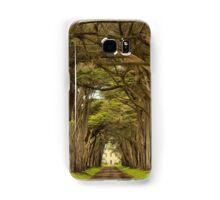 Afternoon At The Cypress Tunnel Samsung Galaxy Case/Skin