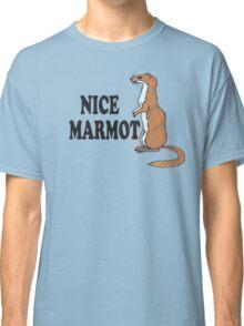The Big Lebowski Quote - Nice Marmot Classic T-Shirt