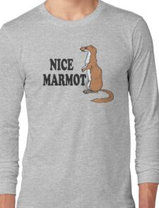 The Big Lebowski Quote - Nice Marmot Long Sleeve T-Shirt