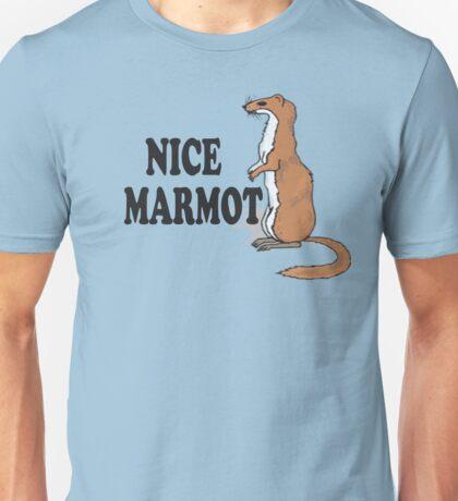 The Big Lebowski Quote - Nice Marmot Unisex T-Shirt