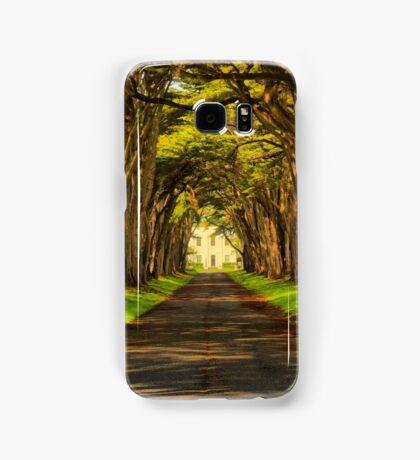 Cypress Tunnel Afternoon Glow Samsung Galaxy Case/Skin