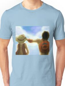 luffy and ace Unisex T-Shirt