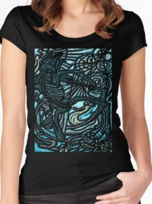 Tarot 13 The Death Women's Fitted Scoop T-Shirt