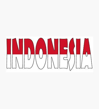 Indonesia Photographic Print
