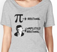 Pi Day Anti Donald Trump  Women's Relaxed Fit T-Shirt