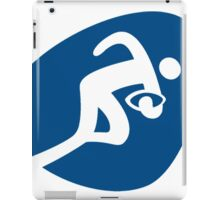 Pictogram rio 2016-rugby iPad Case/Skin