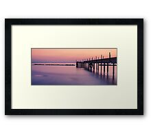 A sunrise dream Framed Print