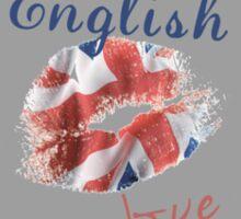 English Love Affair Sticker