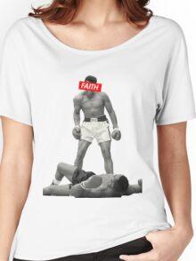 Muhammad Ali Faith Merchandise Women's Relaxed Fit T-Shirt