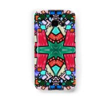 Tate - Created by a Genius (Square/Sym/Red) Samsung Galaxy Case/Skin