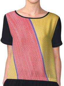 Texture  Deck Chair Material Chiffon Top
