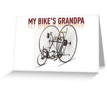 OLD BICYCLES 3 (Le Salvo Quad 1881) Greeting Card