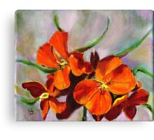 Wall Flower Canvas Print