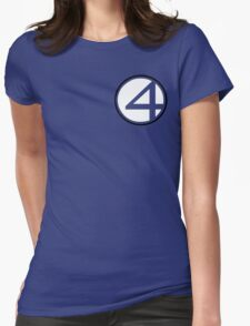 Fantastic 4 Womens Fitted T-Shirt
