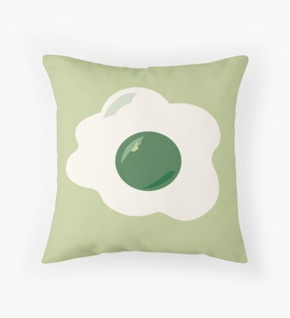 Green Eggs & Ham (Dr. Seuss) Throw Pillow