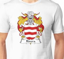 Rivera Coat of Arms/Family Crest Unisex T-Shirt