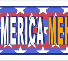Make America Meh Again! Sticker