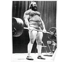 Doug Young Deadlift Poster