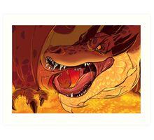 Greed's Roar Art Print