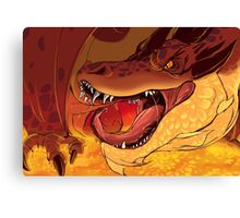 Greed's Roar Canvas Print