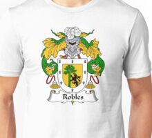 Robles Coat of Arms/Family Crest Unisex T-Shirt