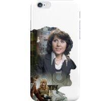 Third Doctor Silhouette iPhone Case/Skin
