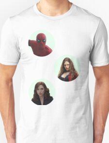 Civil War Sticker Sheet Unisex T-Shirt