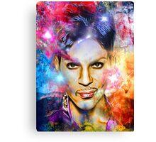 Painted Portrait Canvas Print