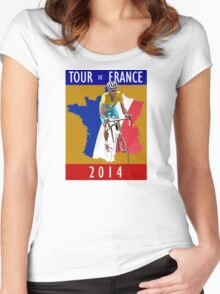 Le Tour 2014 Women's Fitted Scoop T-Shirt