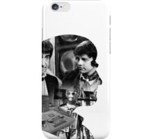 Second Doctor Silhouette iPhone Case/Skin