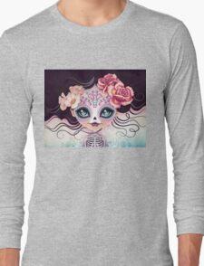 Camila Huesitos - Sugar Skull Long Sleeve T-Shirt