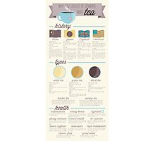 Tea is the Best Infographic Photographic Print