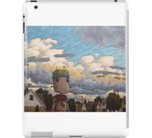 super defender of the universe iPad Case/Skin