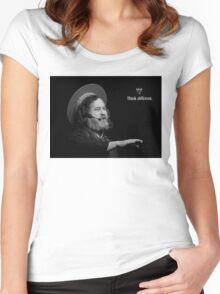 Stallman Think Different Women's Fitted Scoop T-Shirt